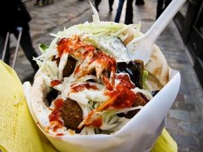 O famoso falafel