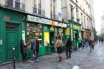 L'As du Falafel ainda sem filas