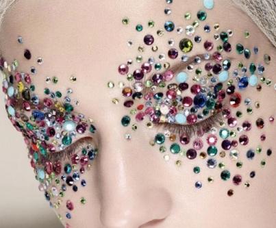 cristais coloridos