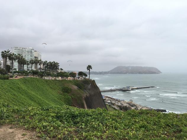 Parte alta de Miraflores, Lima