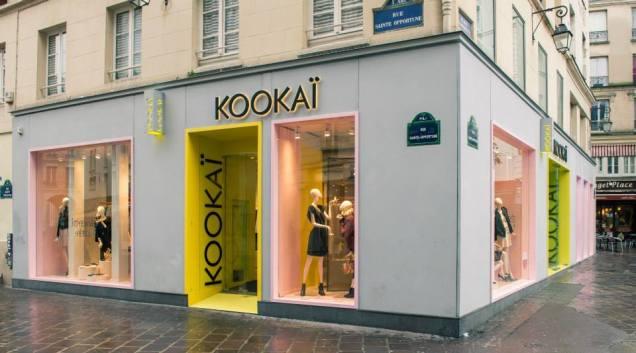 Loja da rua Réaumur, em paris